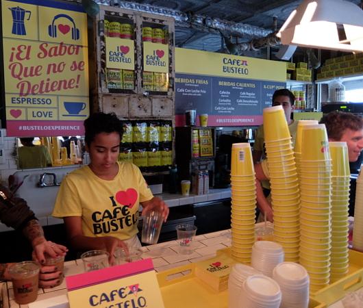 NY生まれのコーヒー豆ブランド、カフェ・バステロ(Café Bustelo)のポップアップ店へ_b0007805_21152949.jpg