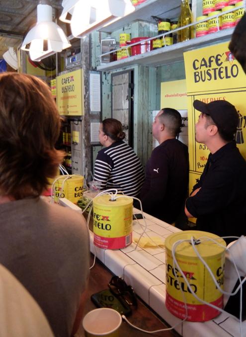 NY生まれのコーヒー豆ブランド、カフェ・バステロ(Café Bustelo)のポップアップ店へ_b0007805_21154551.jpg