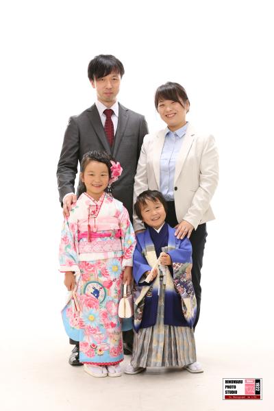 はるひちゃん、ひなたくん☆家族写真_b0203705_12010438.jpg