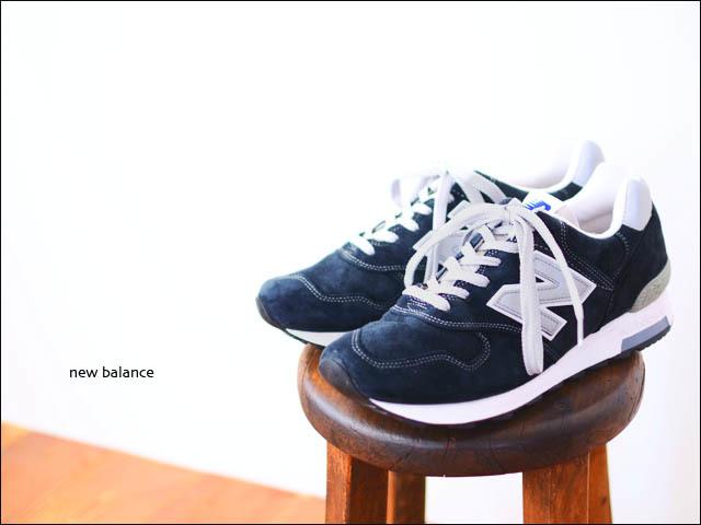 New Balance[ニューバランス正規代理店] M1400 NV [NAVY/ネイビー] made in USA MEN\'S/LAYD\'S オールレザーネイビー _f0051306_18360845.jpg