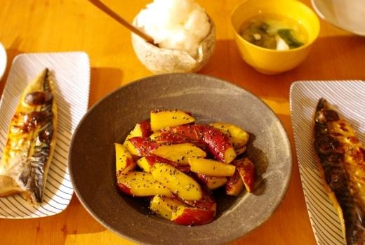 大学芋と大根おろしをたくさん食べるための献立_c0110869_06545285.jpg
