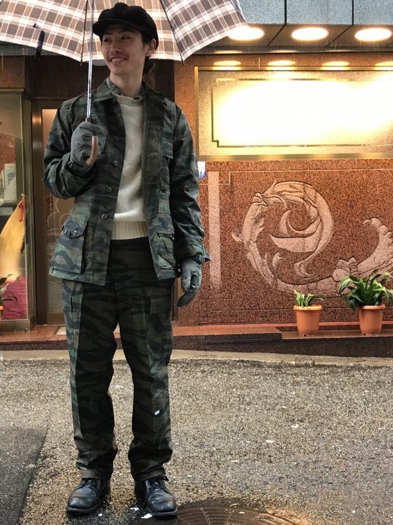 神戸店11/1(水)ヴィンテージ&スーペリア入荷!#2 Military Item Part2! Made in U.S.A. NOS Tiger Camo, NightDesert Camo!!!_c0078587_19255416.jpg