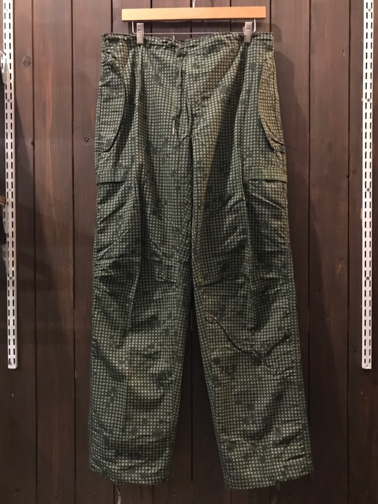 神戸店11/1(水)ヴィンテージ&スーペリア入荷!#2 Military Item Part2! Made in U.S.A. NOS Tiger Camo, NightDesert Camo!!!_c0078587_19314699.jpg
