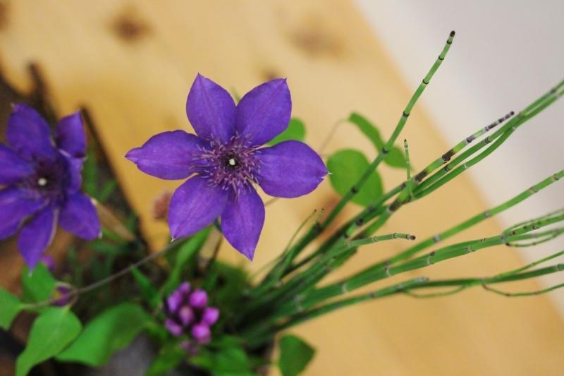 デカス 民家で生け花を_b0220318_09045795.jpg