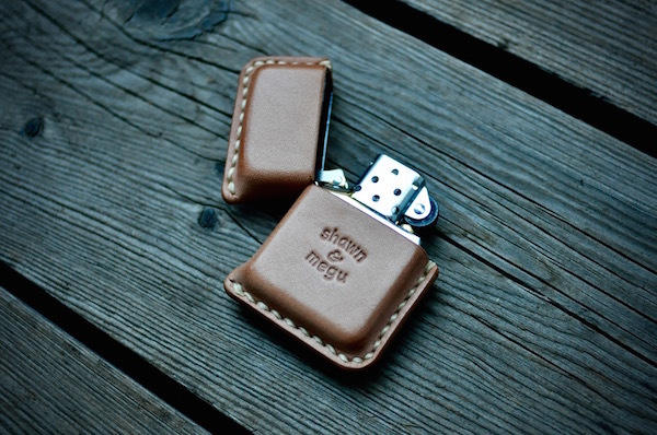 zippo leather cover_b0172633_23233424.jpg