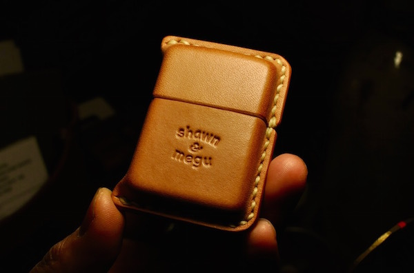 zippo leather cover_b0172633_23233586.jpg