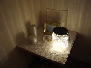 """和らげコーナーに """"光"""" を_c0369433_17175293.jpg"""