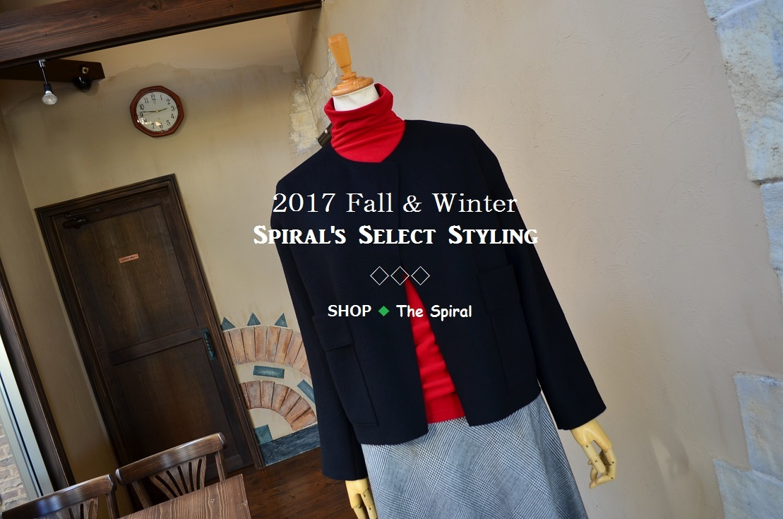 """2017 F/W Spiral\'s Select Styling...10/30mon\""_d0153941_17103014.jpg"
