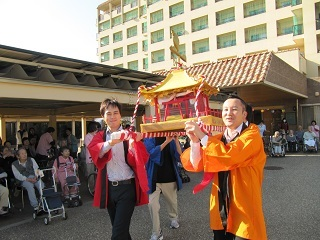 緑陽館 秋祭り_e0163042_17565659.jpg