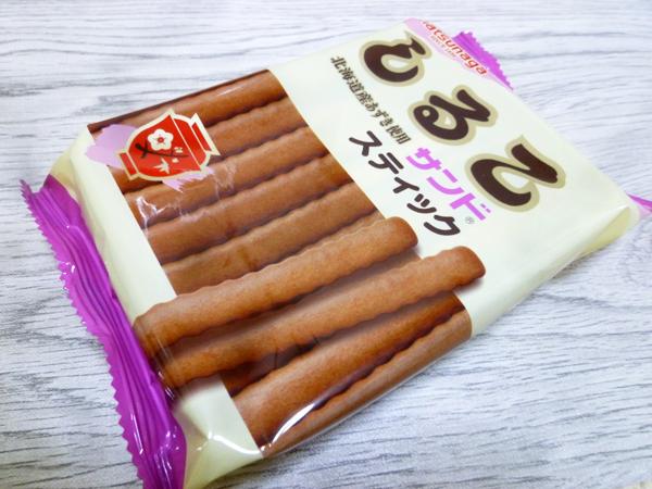 【松永製菓株式会社】しるこサンド スティック_c0152767_21302776.jpg