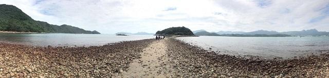 アメリカのCNNトラベルにも選ばれた、干潮時は歩いて渡れる西貢・橋頭洲☆A Boat Trip To Sharp Island in Sai Kung_f0371533_18151474.jpg