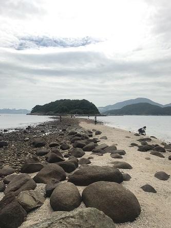 アメリカのCNNトラベルにも選ばれた、干潮時は歩いて渡れる西貢・橋頭洲☆A Boat Trip To Sharp Island in Sai Kung_f0371533_18233779.jpg