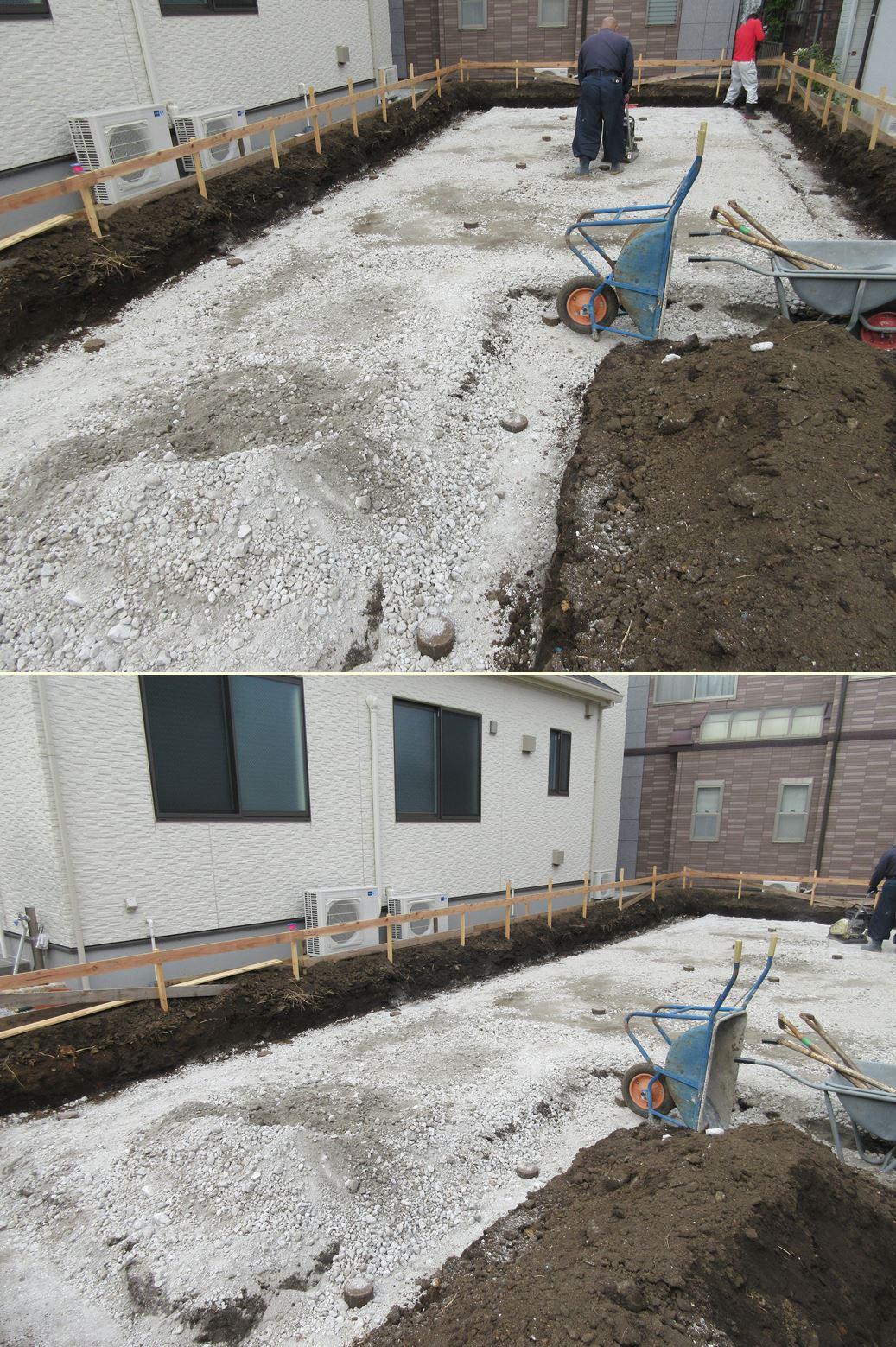 原町田の家☆基礎工事終わりました^^_c0152341_1651064.jpg