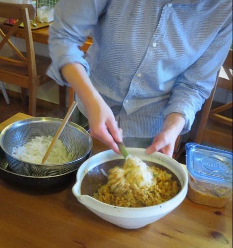 玄米菜食ごはんや ハレノヒ * カフェのお料理教室 @佐久_f0236260_23345844.jpg