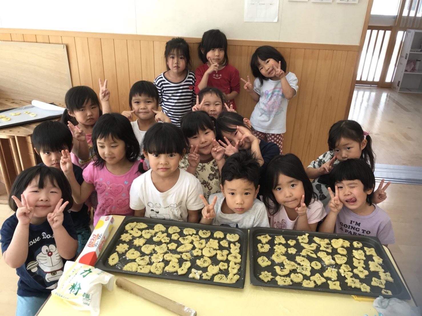 4歳児クラス、クッキーを作りました_c0151262_12535605.jpeg
