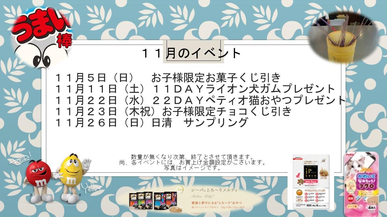 171031 11月のイベント告知_e0181866_12015320.jpg