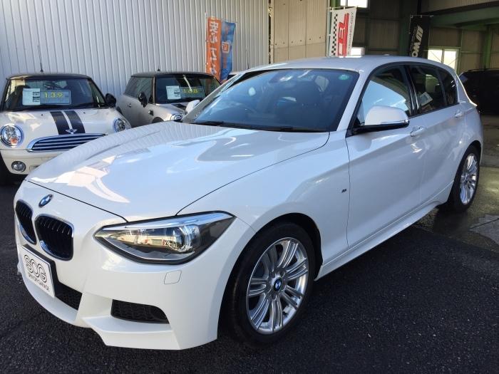 F20 BMW 116i Mスポーツ お探ししました!_c0317377_18125838.jpg