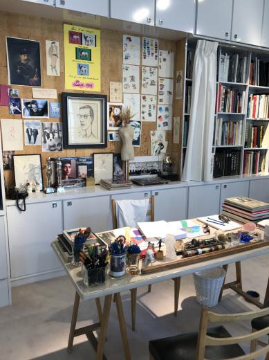 Musée Yves Saint Laurent Paris ミュゼ・イヴ・サンローラン(パリ便り その3)_c0176078_12243551.jpg