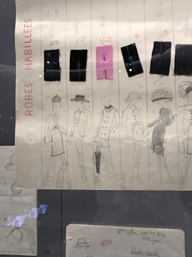 Musée Yves Saint Laurent Paris ミュゼ・イヴ・サンローラン(パリ便り その3)_c0176078_12244392.jpg