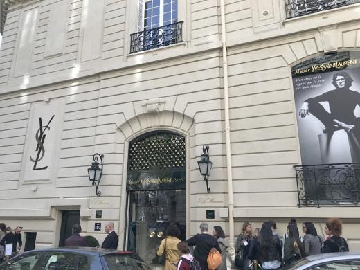 Musée Yves Saint Laurent Paris ミュゼ・イヴ・サンローラン(パリ便り その3)_c0176078_12264249.jpg