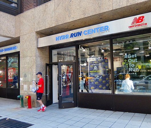 NYロード・ランナーのランセンター NYRR RUNCENTER featuring the NB Run Hub_b0007805_23541943.jpg
