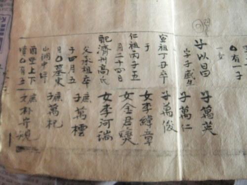 本家より贈られた100年以上前の古書等を、どうしたら良いのか?_f0253572_17130929.jpg