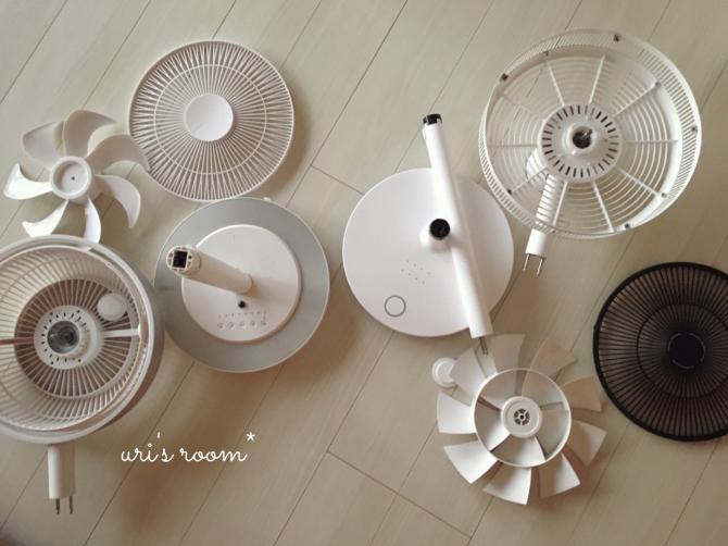 今更ですが…今年の扇風機収納。_a0341288_20305190.jpg