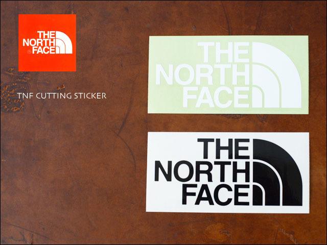 THE NORTH FACE [ザ・ノース・フェイス] TNF CUTTING STICKER [NN88106] プリントステッカー MEN\'S/LADY\'S _f0051306_18414264.jpg
