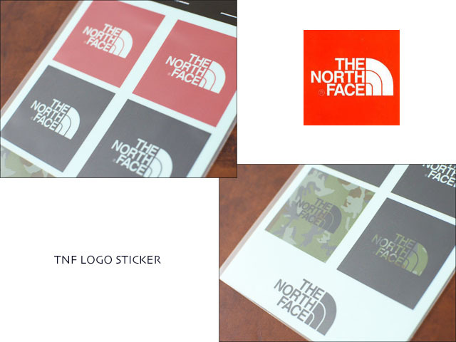 THE NORTH FACE [ザ・ノース・フェイス] TNF LOGO STICKER [NN83803] プリントステッカー MEN\'S/LADY\'S _f0051306_18454531.jpg