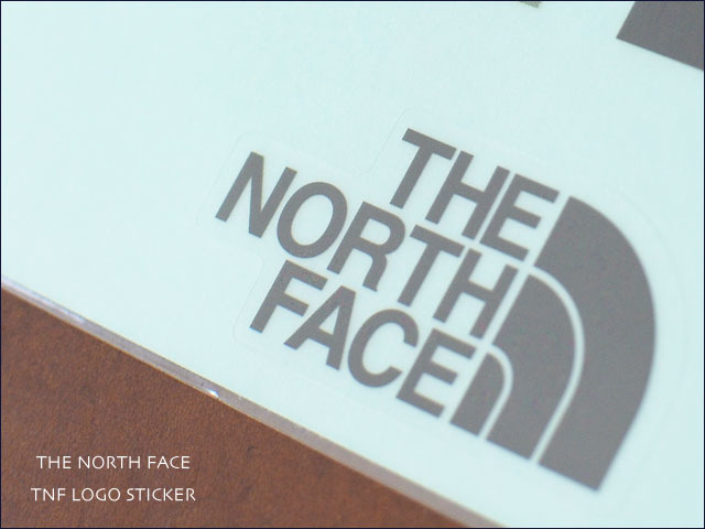 THE NORTH FACE [ザ・ノース・フェイス] TNF LOGO STICKER [NN83803] プリントステッカー MEN\'S/LADY\'S _f0051306_18455277.jpg