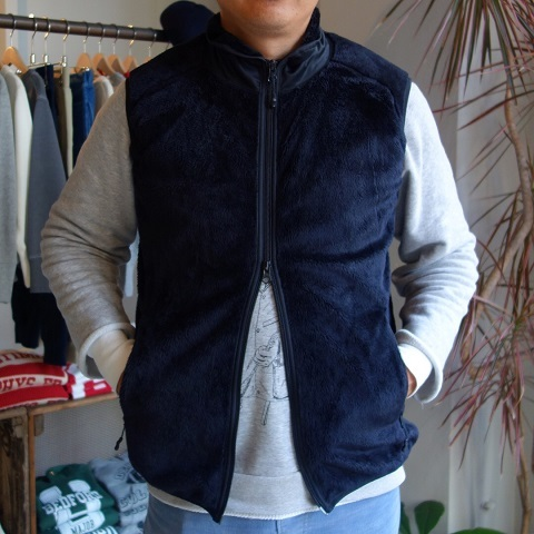 Needles Sportswear : Piping Vest - Micro Fleece_a0234452_20274192.jpg