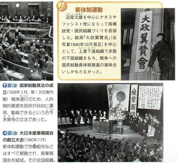 第67回日本史講座のまとめ③(日本のファシズム体制の成立) : 山武の ...