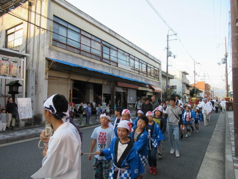 久我神社 秋祭り_e0048413_20313782.jpg