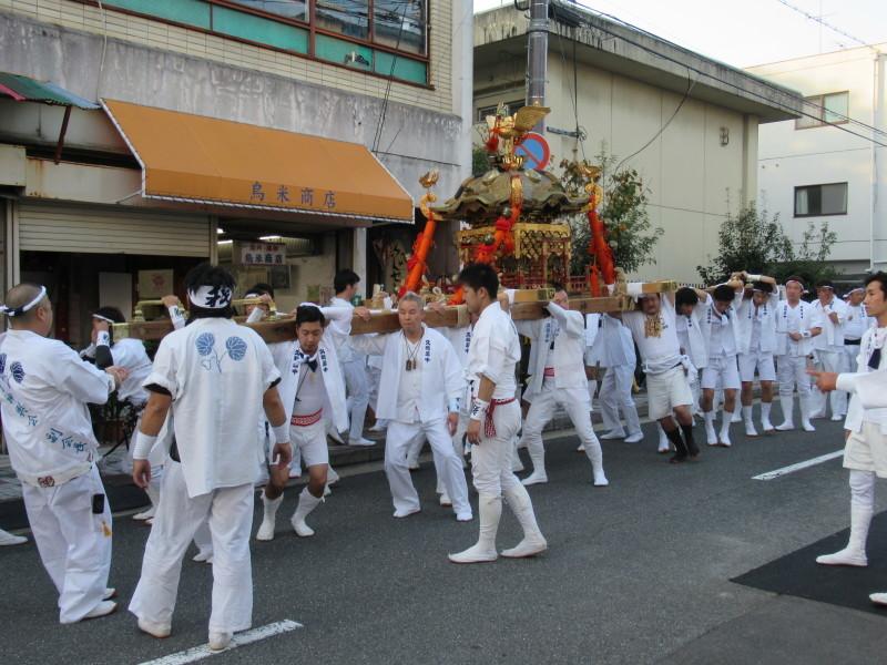 久我神社 秋祭り_e0048413_20315310.jpg
