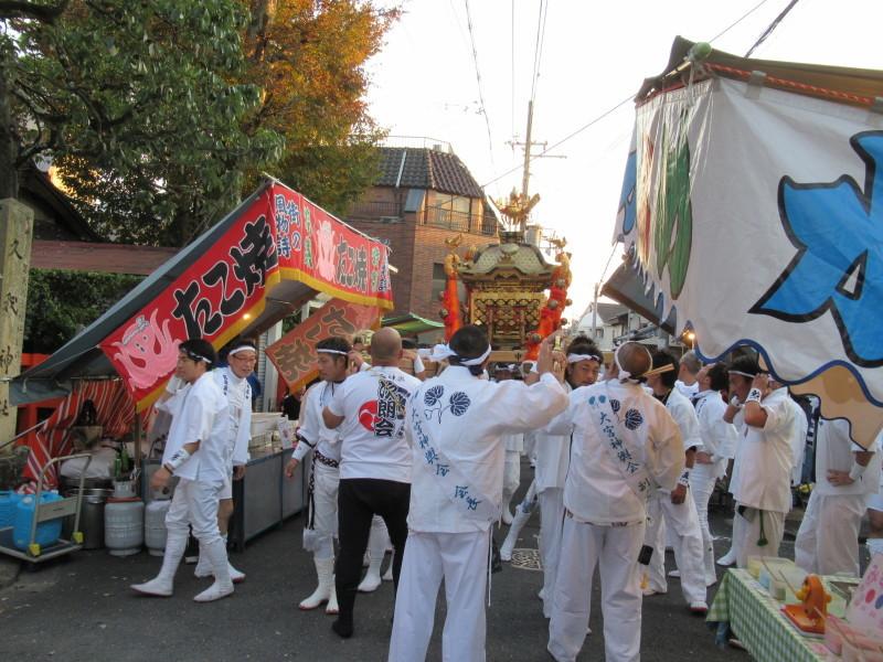 久我神社 秋祭り_e0048413_20322720.jpg
