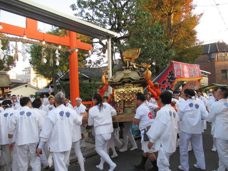 久我神社 秋祭り_e0048413_20330081.jpg