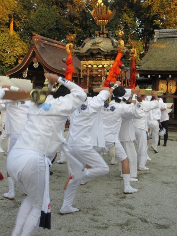 久我神社 秋祭り_e0048413_20331515.jpg