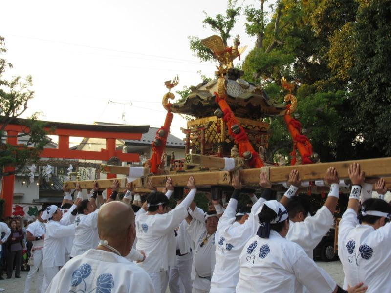 久我神社 秋祭り_e0048413_20333498.jpg