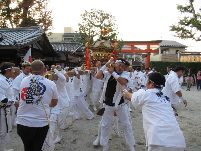 久我神社 秋祭り_e0048413_20335662.jpg