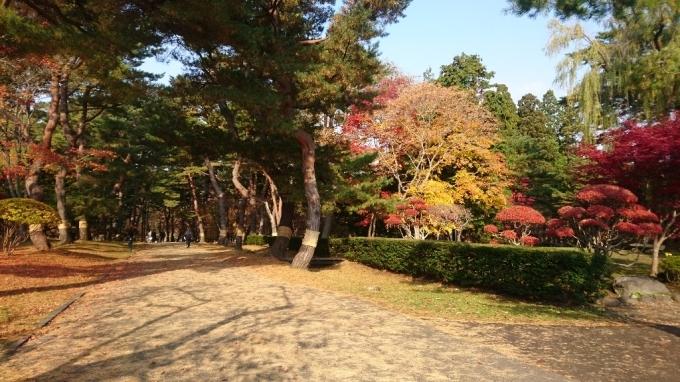 香雪園、見晴公園の紅葉_b0106766_14502027.jpg