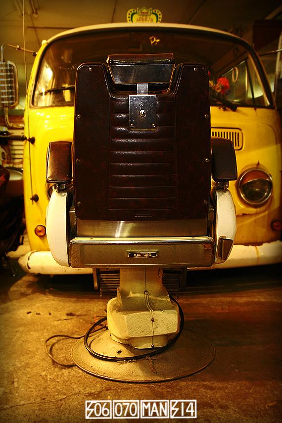 1970s Vintage TAKARA 659 電動ハイドロ床屋椅子 ミッドセンチュリー barber_e0243096_21584200.jpg