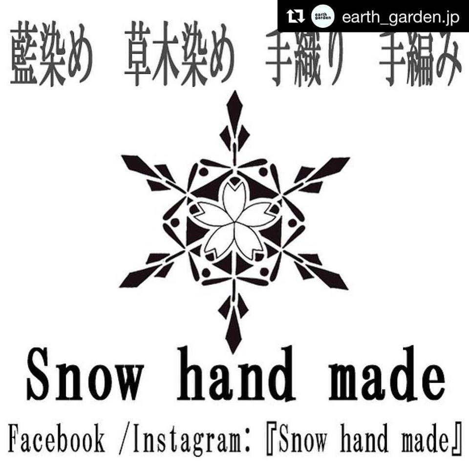 "earth garden Pickup shop!! ""Snow hand made\""_c0222907_08433928.jpg"