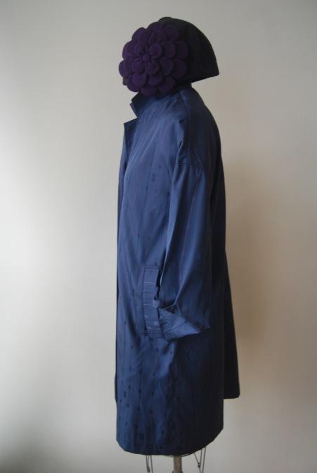 着物リメイク・雨コートからチェスターコート_d0127925_23465524.jpg