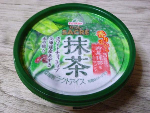 サクレ(SACRE)抹茶@フタバ食品株式会社_c0152767_21290604.jpg