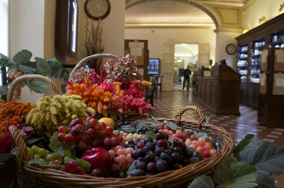 私が好きな場所〜サンタマリアノヴェッラ薬局のティールーム_f0106597_16363071.jpg
