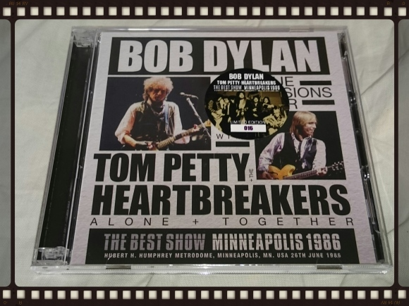 BOB DYLAN with TOM PETTY & THE HEARTBREAKERS / THE BEST SHOW MINNEAPOLIS 1986_b0042308_06230026.jpg