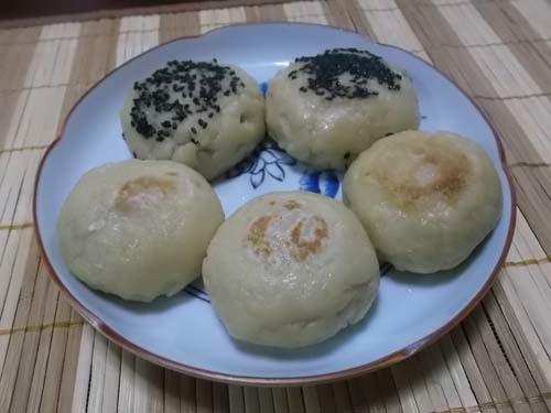 白玉粉と豆腐のおやき_f0019498_13440400.jpg