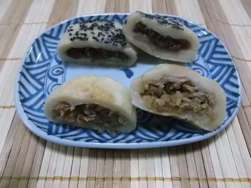 白玉粉と豆腐のおやき_f0019498_13441317.jpg