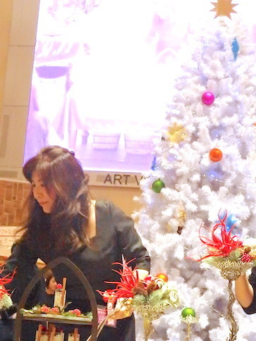 うめだ阪急テーブルクリエーション2017「カラフルに楽しむクリスマス」_f0206212_23263119.jpg