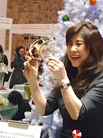うめだ阪急テーブルクリエーション2017「カラフルに楽しむクリスマス」_f0206212_23280581.jpg